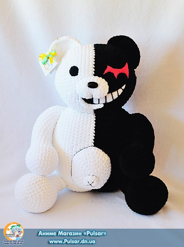 "М`яка іграшка ""Amigurumi"" Monokuma"