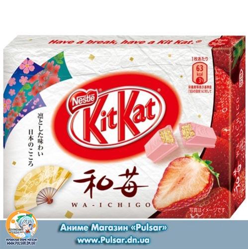 KitKat Хоккайдо Полуниця - Japan`s Limited, Regional Kit Kat Offering Adds Hokkaido Strawberry