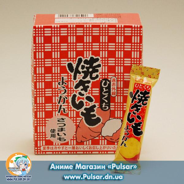 Bite sweet potato Сацумаимо - Желе з солодкого Японського червоного картоплі