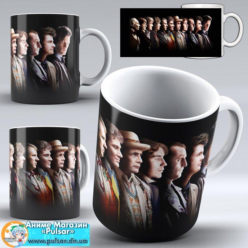 """Чашка """"Doctor Who"""" - Doctors"""
