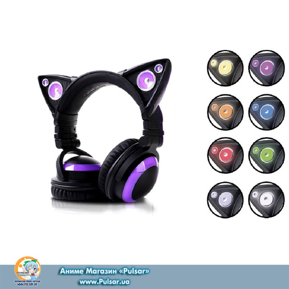 Wireless Bluetooth Cat Ear Headphones