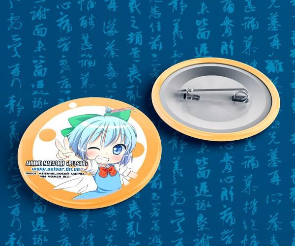 """Подарунковий значок з логотипом аніме магазину """"Pulsar"""" . В подарунок для покупок від 300 грн"""