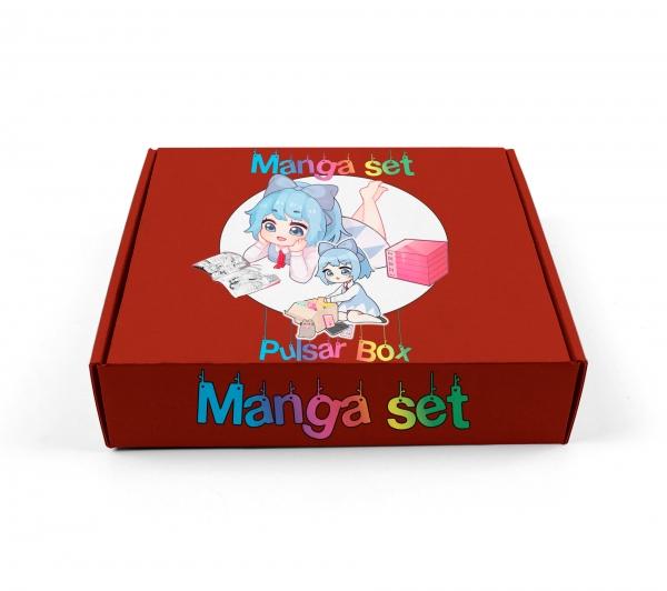 Аниме бокс «Манговый | Manga set»