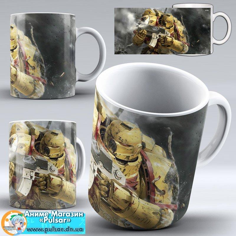 "Чашка ""Warhammer 40,000"" - Robot"