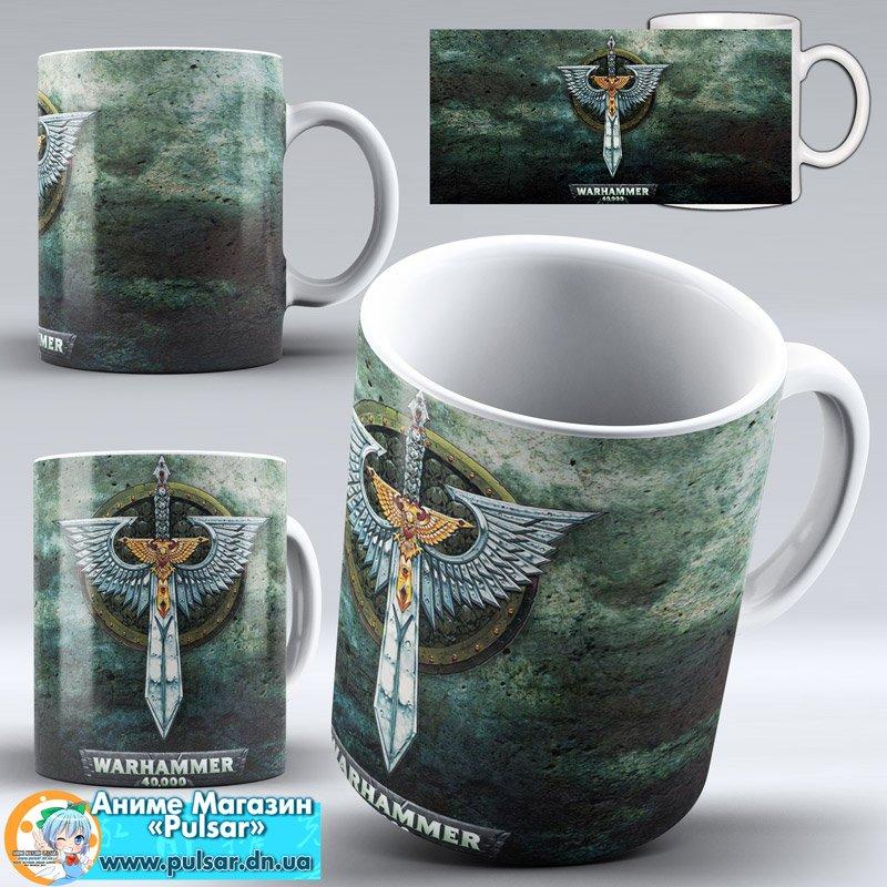 "Чашка ""Warhammer 40,000"" - Logos"