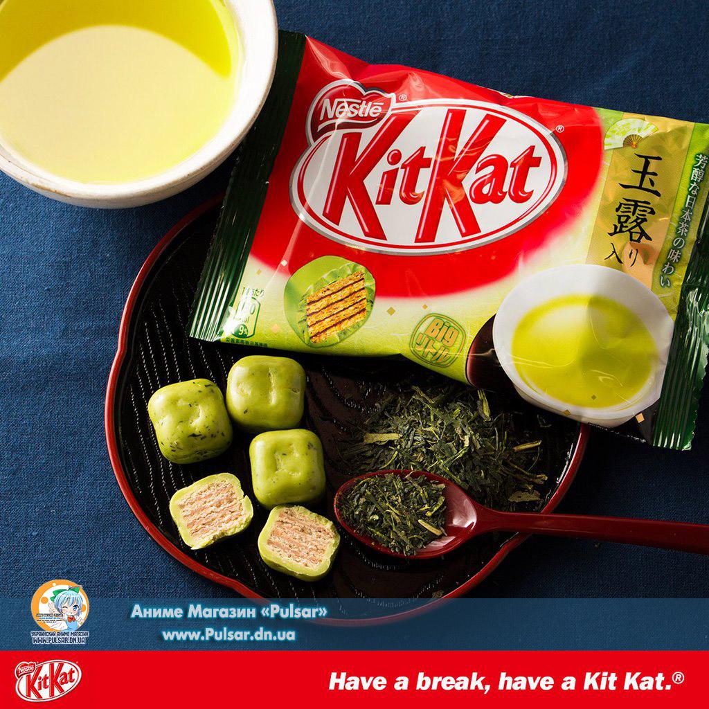 Kitkat Greentea Balls Шарики Кит кат с зеленым чаем