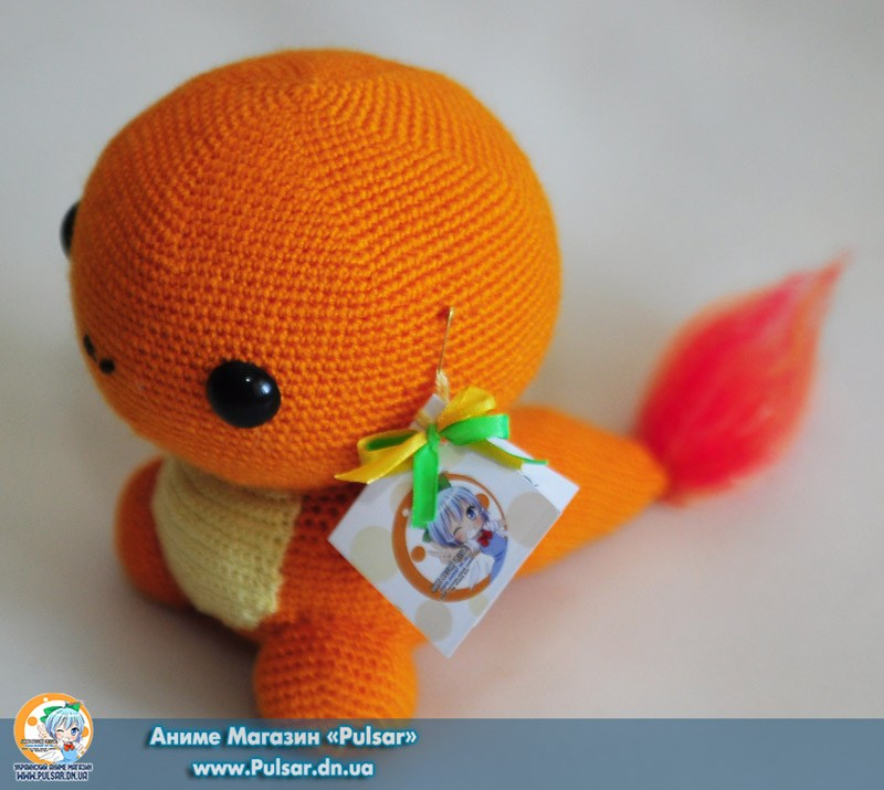 "М`яка іграшка ""Amigurumi"" ""Pokemon - Чармандер ( Charmander)"""