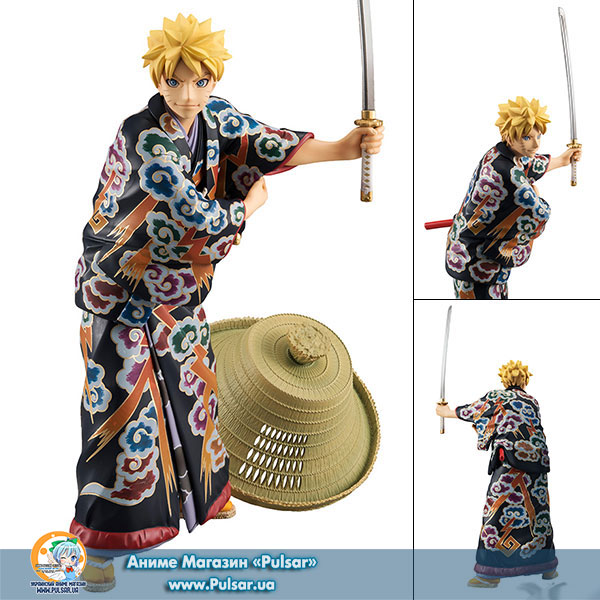 Оригинальная аниме фигурка G.E.M. Series NARUTO Naruto Uzumaki Kabuki EDITION Complete Figure