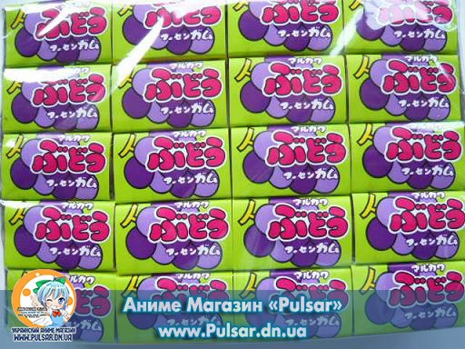 Жевательная резинка Marukawa grape bubble gum