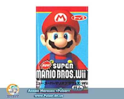 Жувальна гумка Top confectionery Mario Wii