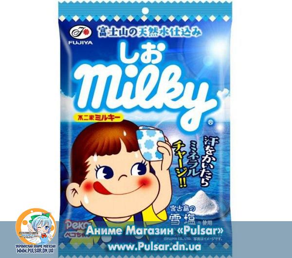 Жувальні цукерки Fujiya Milky Summer Salt 85g ( Молоко з сіллю)