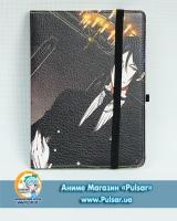 Скетчбук с обложкой из Эко Кожи «Kuroshitsuji tape 2»