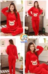 Пижама из флиса модель Cute Red Fairy Fox