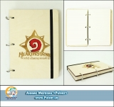 Скетчбук ( sketchbook)  «Hearthstone» CUT x MODE