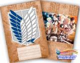 Зошит у клітинку ( Camp Mark / (Shingeki no Kyojin) 36 аркушів