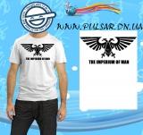 "Футболка по онлайн игре ""Warhammer "" модель The imperium of man"