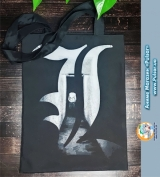 Сумка-шоппер Тетрадь Смерти (Death Note) tape 01
