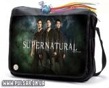 """Сумка зі змінним клапаном з серіалу """"Supernatural"""" (Надприродне) - Together"""