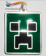 """Кулон з гри MineCraft модель """"Creeper"""""""