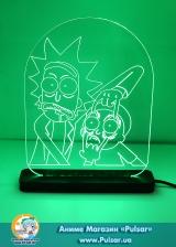 Діодний Акриловий світильник Rick and Morty tape 1