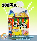 "Подарунковий пакет з солодощами ""Japan Christmas"" Puchigifuto #1"