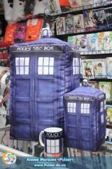 "Подушка-сувенір ""Тардіс"" із серіалу Доктор Хто (Doctor Who) 30 і 55 см"