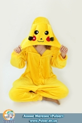 """кігурумі (піжама в стилі аніме) """" Yellow Pikachu!Pokemon"""""""