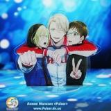 Акрилова міні Фігурка Yuri!!! on Ice tape 01