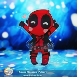 Акриловая мини Фигурка Deadpool tape 01