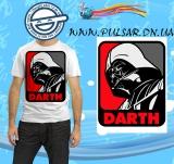 """Футболка по кинофильму """"Star Wars"""" («Звездные войны») модель Double Darth"""