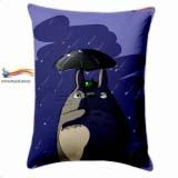 "Прямокутна Подушка в Аніме стилі 60 см My Neighbor Totoro модель ""Rain Clouds"""
