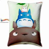 "Прямоугольная Подушка в Аниме стиле 60 см  My Neighbor Totoro  модель ""Totoro and You"""