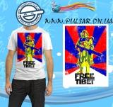 """Футболка по кинофильму """"Star Wars"""" («Звездные войны») модель Free Tibet"""