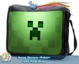 """Сумка со сменным клапаном  """"Minecraft"""" - Creeper"""