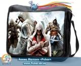 """Сумка зі змінним клапаном """"Assassin`s Creed"""" - Army"""