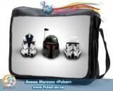 """Сумка зі змінним клапаном """"Star Wars"""" - Helmets"""
