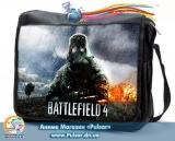 """Сумка со сменным клапаном  """"Battlefield 4"""""""