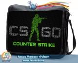 "Сумка со сменным клапаном  ""CS GO"" - Counter-Strike: Global Offensive"