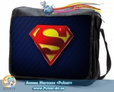 """Сумка со сменным клапаном  """"Superman"""" - On you mark"""