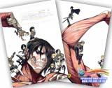 Зошит у клітинку ( Attack Death / (Shingeki no Kyojin) 36 аркушів