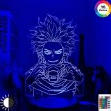 Диодный Акриловый светильник My Hero Academia Hitoshi Shinso  7 цветов tape 1