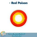 Контактные линзы Red Poison