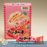 Жуйки Sonomanma peach bubble gum