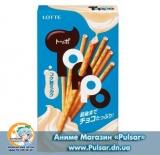 ПалочкиLotte Toppo rich purport milk ( Молоко і шоколад)