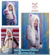 Зверошапка (SpiritHood) модель CAT UA ( Кошка)