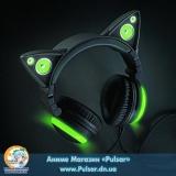 Оригінальні навушники, імітують котячі вушка, від фірми Axent Wear