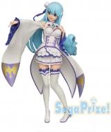 Оригинальная аниме фигурка «LPM Figure Aqua Emilia Ver.»