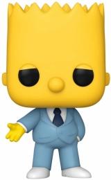 Вінілова фігурка «Funko Pop! Animation: Simpsons - Mafia Bart»