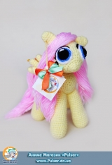 "М`яка іграшка ""Amigurumi"" My Little Pony Friendship is Magic - Fluttershy"