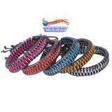 Кожаный браслет в стиле K-POP модель Rainbow